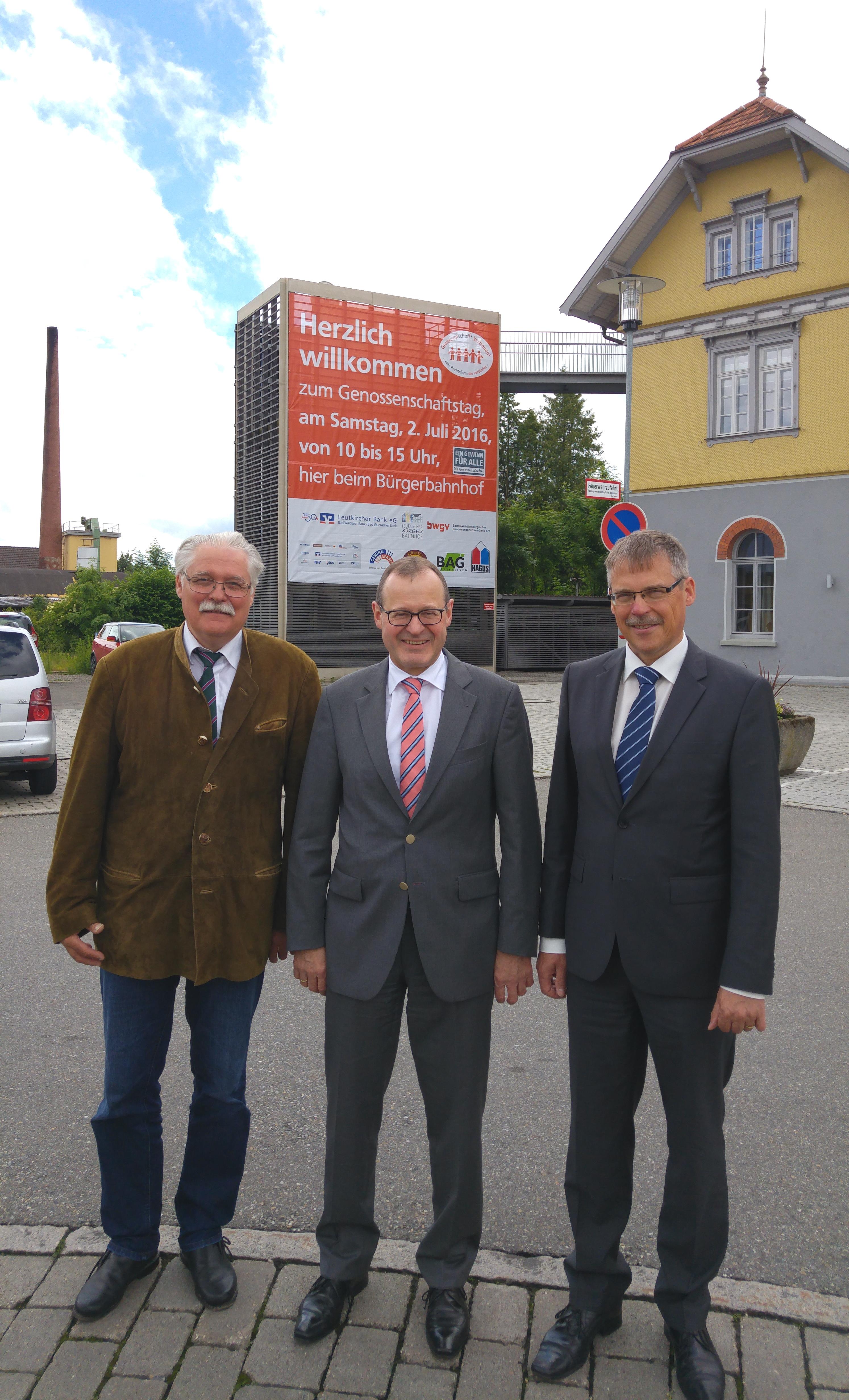 10 Genossenschaftstag In Leutkirch Potenzial In Der Kommunal Und Gesundheitswirtschaft Bwgv