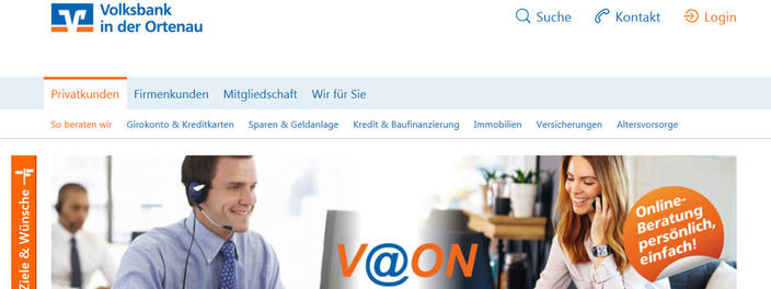 V@ON Volksbank in der Ortenau